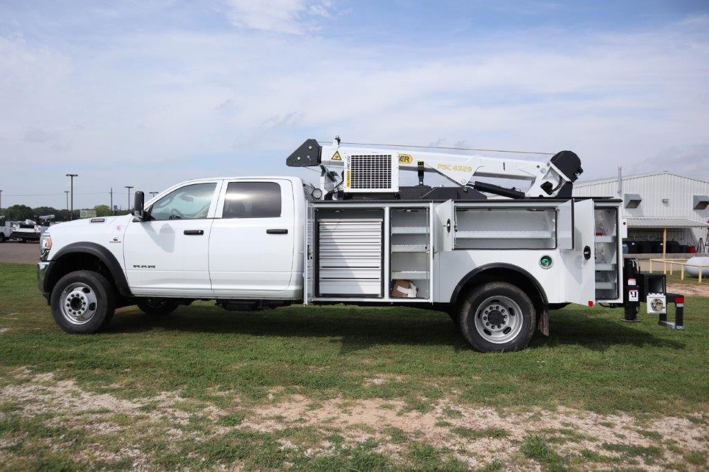2020 Ram 5500 Crew Cab DRW 4x4, Palfinger PAL Pro 43 Mechanics Body #130031 - photo 19