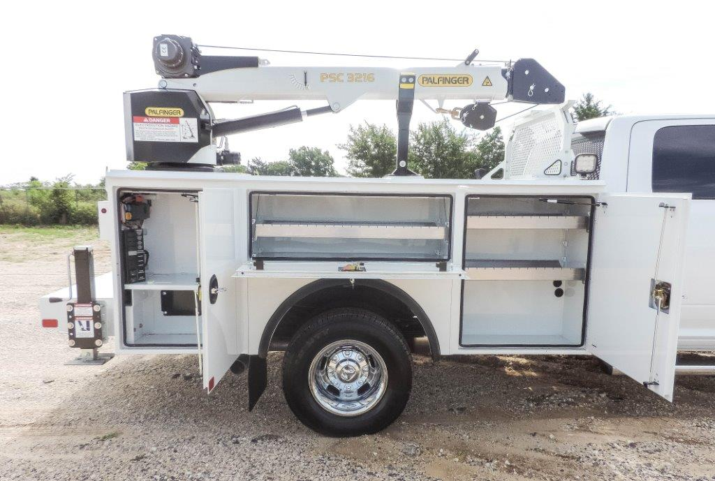 2019 Ram 3500 Crew Cab DRW 4x4,  Palfinger PAL Pro 20 Mechanics Body #529237 - photo 14