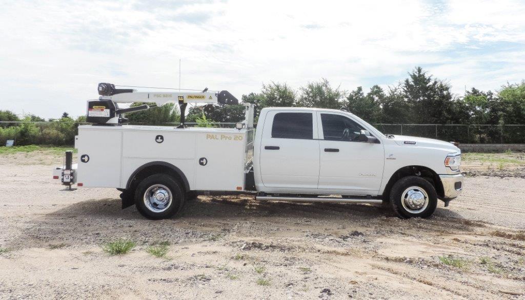 2019 Ram 3500 Crew Cab DRW 4x4,  Palfinger PAL Pro 20 Mechanics Body #529237 - photo 4