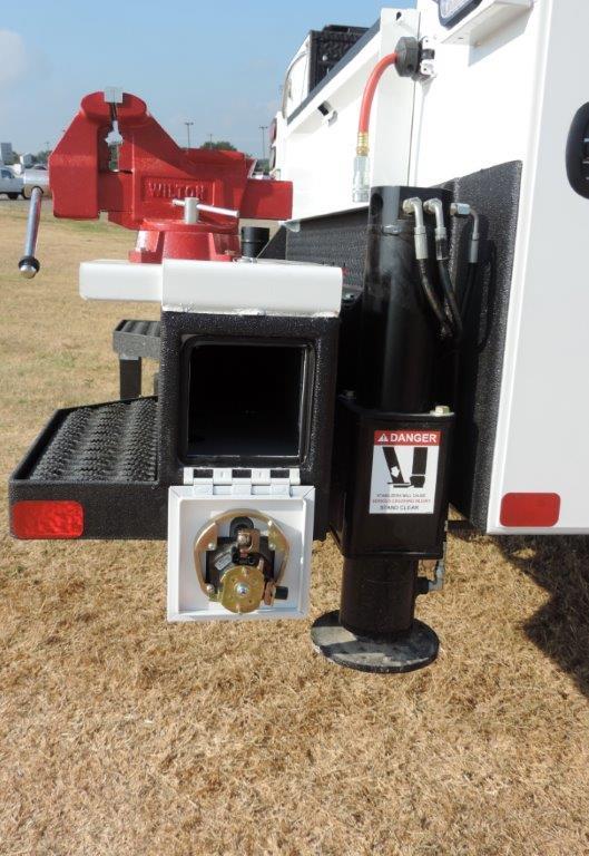 2019 Ram 5500 Regular Cab DRW 4x4,  Palfinger PAL Pro 39 Mechanics Body #535480 - photo 8