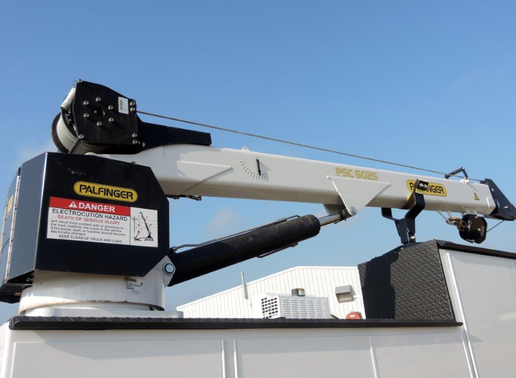 2019 Ram 5500 Regular Cab DRW 4x4,  Palfinger PAL Pro 39 Mechanics Body #535507 - photo 8