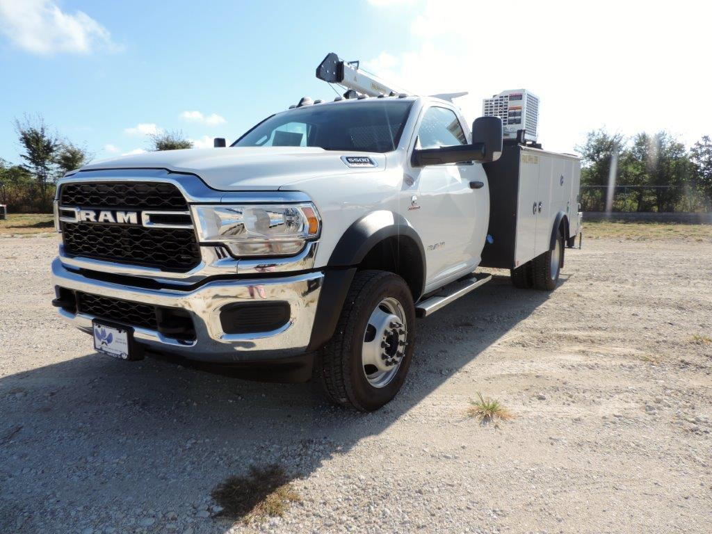 2019 Ram 5500 Regular Cab DRW 4x4, Palfinger PAL Pro 39 Mechanics Body #535512 - photo 4