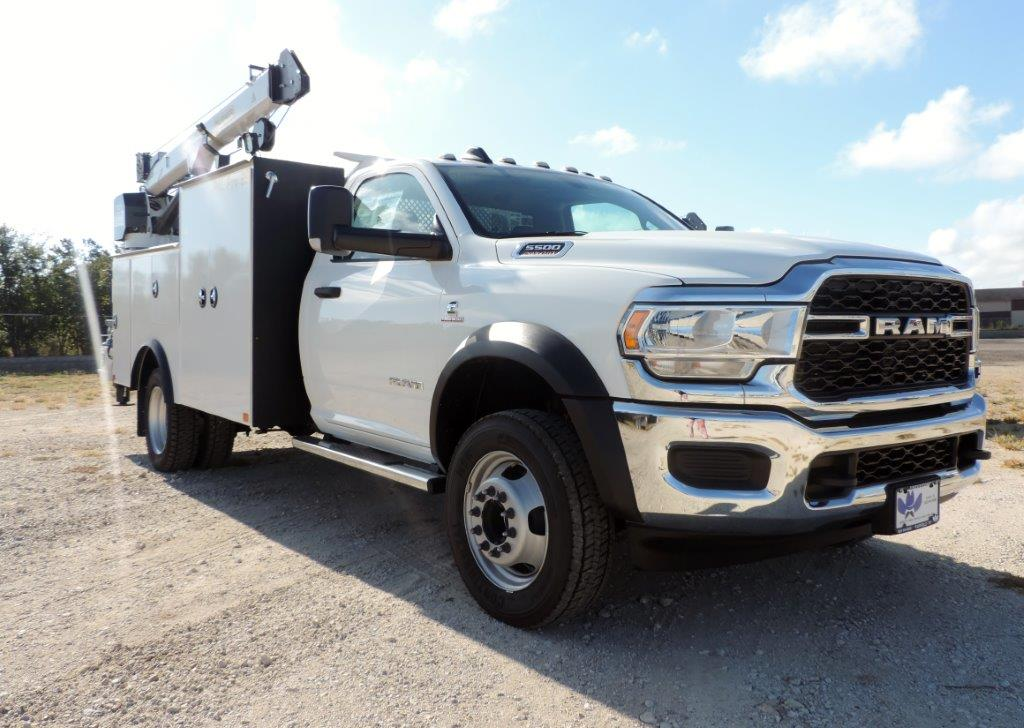2019 Ram 5500 Regular Cab DRW 4x4, Palfinger PAL Pro 39 Mechanics Body #535512 - photo 2