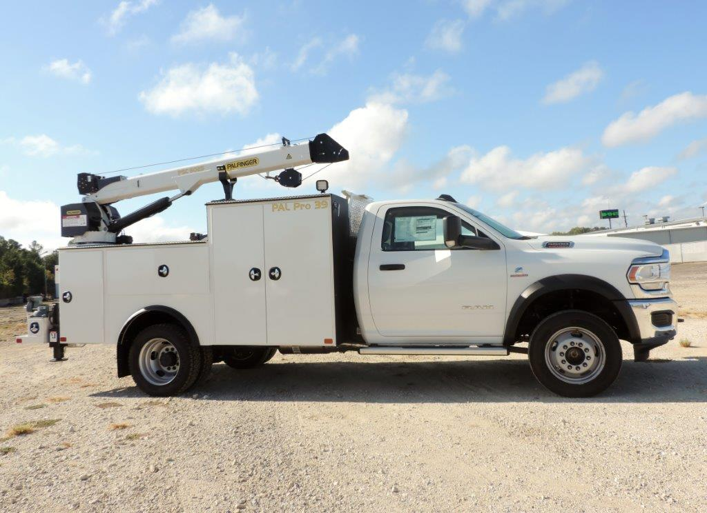 2019 Ram 5500, Palfinger Mechanics Body