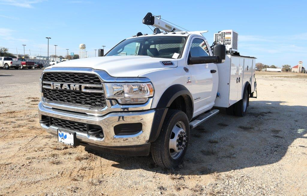 2019 Ram 5500 Regular Cab DRW 4x4, Palfinger PAL Pro 43 Mechanics Body #535519 - photo 4