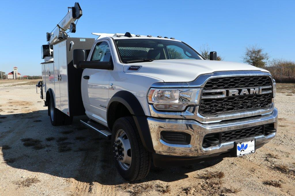 2019 Ram 5500 Regular Cab DRW 4x4, Palfinger Mechanics Body #535522 - photo 1