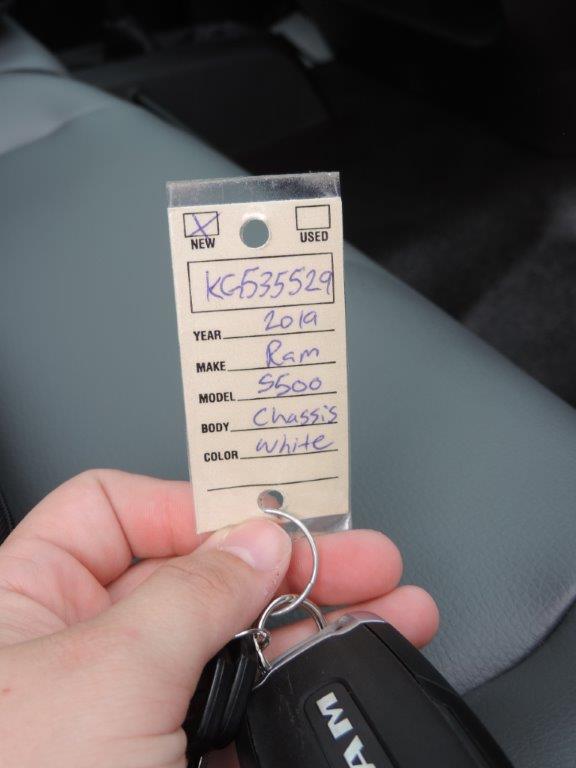 2019 Ram 5500 Regular Cab DRW 4x4,  Mechanics Body #535529 - photo 10