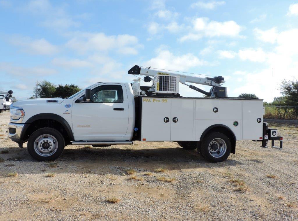 2019 Ram 5500 Regular Cab DRW 4x4, Palfinger PAL Pro 39 Mechanics Body #535530 - photo 7