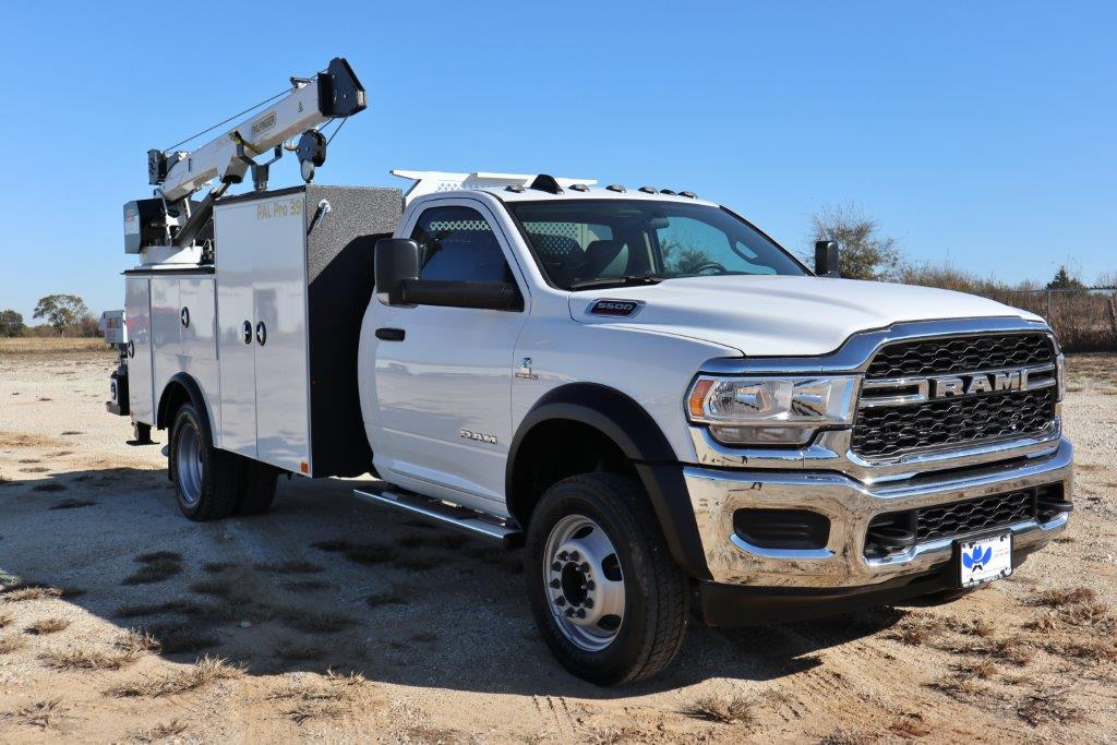 2019 Ram 5500 Regular Cab DRW 4x4, Palfinger Mechanics Body #535534 - photo 1