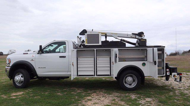 2021 Ram 5500 Regular Cab DRW 4x4, Palfinger PAL Pro 39 Mechanics Body #538704 - photo 29