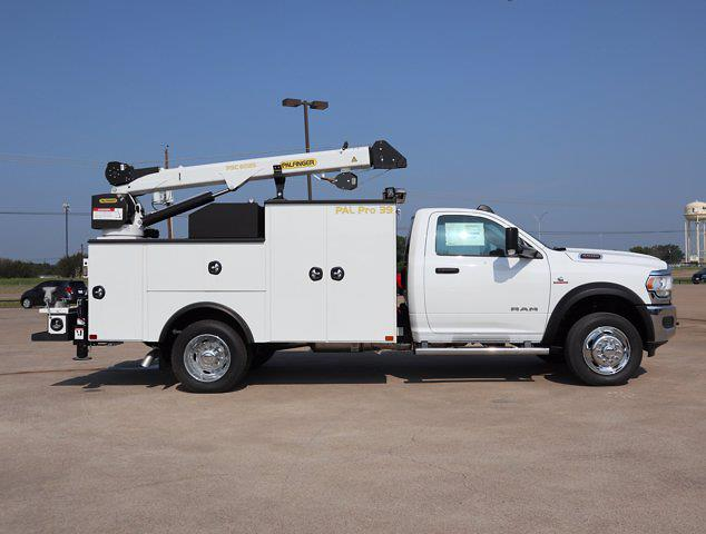 2021 Ram 5500 Regular Cab DRW 4x4,  Palfinger PAL Pro 39 Mechanics Body #586157 - photo 14