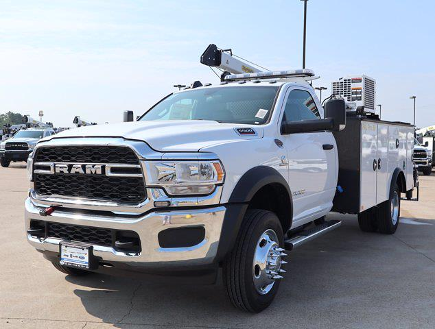 2021 Ram 5500 Regular Cab DRW 4x4,  Palfinger PAL Pro 39 Mechanics Body #586157 - photo 5