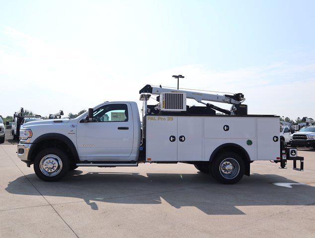 2021 Ram 5500 Regular Cab DRW 4x4,  Palfinger PAL Pro 39 Mechanics Body #586157 - photo 6