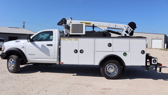 2021 Ram 5500 Regular Cab DRW 4x4, Palfinger PAL Pro 43 Mechanics Body #599060 - photo 5
