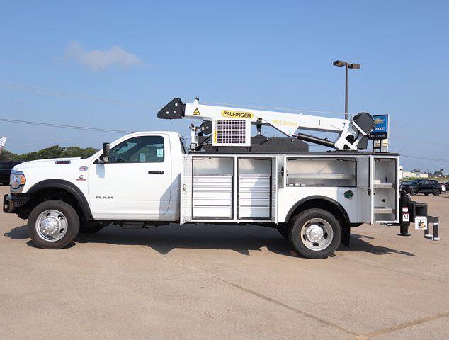 2021 Ram 5500 Regular Cab DRW 4x4,  Palfinger PAL Pro 43 Mechanics Body #599062 - photo 30