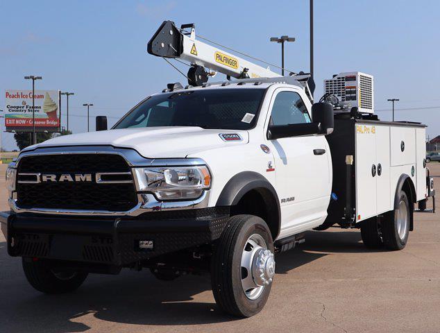 2021 Ram 5500 Regular Cab DRW 4x4,  Palfinger PAL Pro 43 Mechanics Body #599062 - photo 6