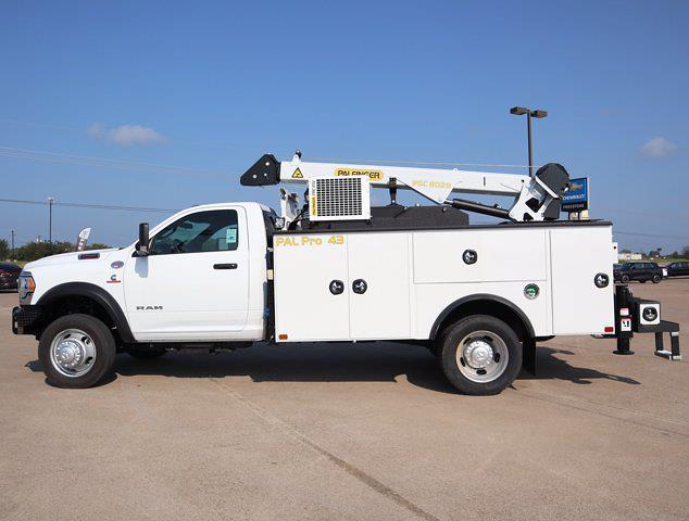 2021 Ram 5500 Regular Cab DRW 4x4,  Palfinger PAL Pro 43 Mechanics Body #599062 - photo 7