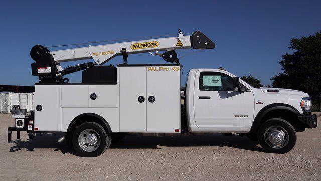 2021 Ram 5500 Regular Cab DRW 4x4, Palfinger PAL Pro 43 Mechanics Body #599064 - photo 13