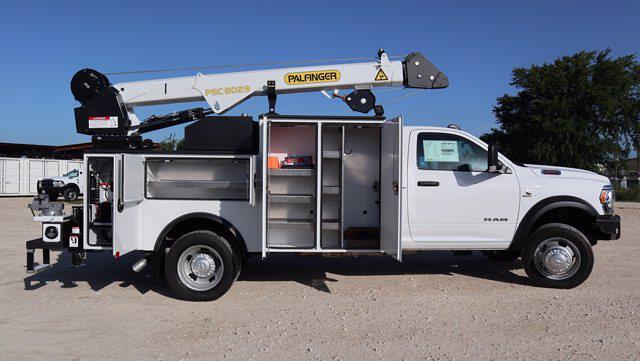 2021 Ram 5500 Regular Cab DRW 4x4, Palfinger PAL Pro 43 Mechanics Body #599064 - photo 30