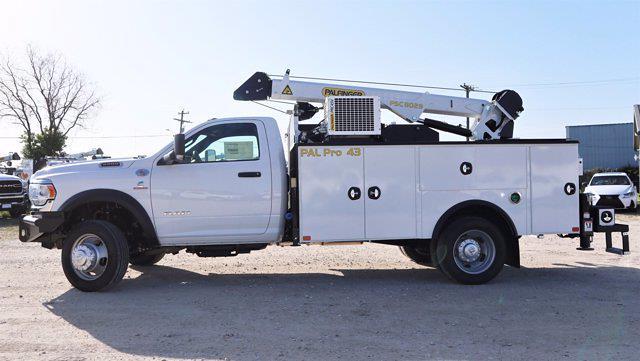 2021 Ram 5500 Regular Cab DRW 4x4, Palfinger PAL Pro 43 Mechanics Body #599064 - photo 5