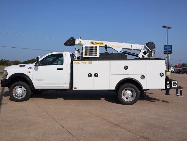 2021 Ram 5500 Regular Cab DRW 4x4,  Palfinger PAL Pro 43 Mechanics Body #613001 - photo 6