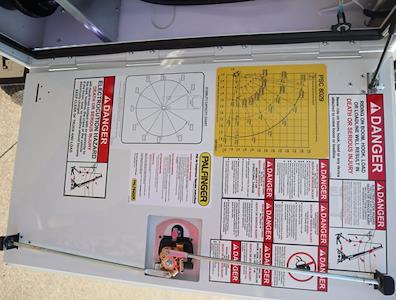 2021 Ram 5500 Regular Cab DRW 4x4,  Palfinger PAL Pro 43 Mechanics Body #613001 - photo 26