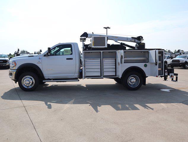 2021 Ram 5500 Regular Cab DRW 4x4,  Palfinger PAL Pro 43 Mechanics Body #613006 - photo 34