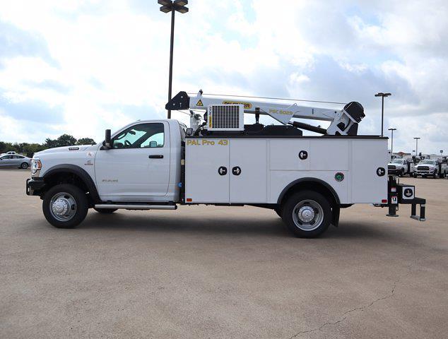 2021 Ram 5500 Regular Cab DRW 4x4,  Palfinger PAL Pro 43 Mechanics Body #613006 - photo 6