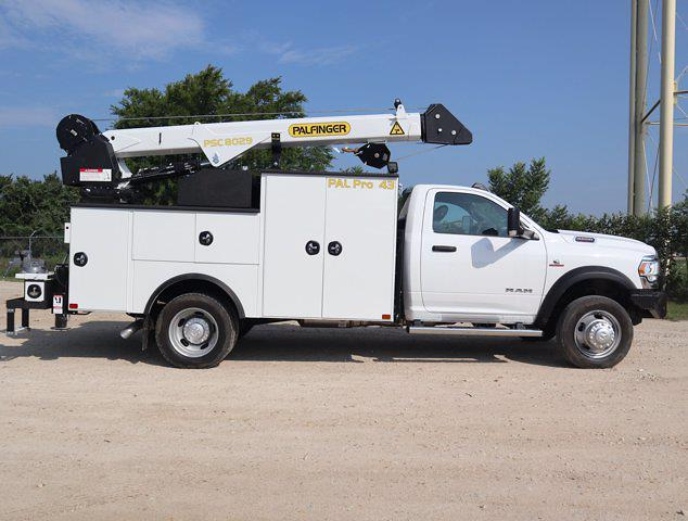 2021 Ram 5500 Regular Cab DRW 4x4,  Palfinger PAL Pro 43 Mechanics Body #613012 - photo 14