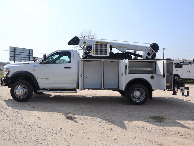 2021 Ram 5500 Regular Cab DRW 4x4,  Palfinger PAL Pro 43 Mechanics Body #613012 - photo 23
