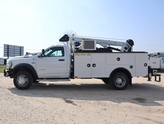 2021 Ram 5500 Regular Cab DRW 4x4,  Palfinger PAL Pro 43 Mechanics Body #613012 - photo 6
