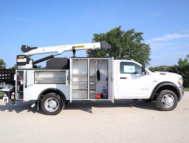 2021 Ram 5500 Regular Cab DRW 4x4,  Palfinger PAL Pro 39 Mechanics Body #613014 - photo 21