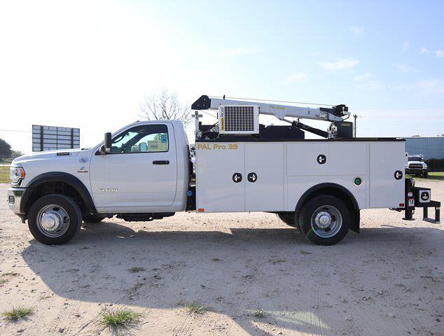 2021 Ram 5500 Regular Cab DRW 4x4,  Palfinger PAL Pro 39 Mechanics Body #613014 - photo 6