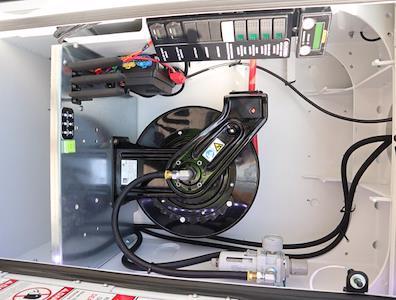 2021 Ram 5500 Regular Cab DRW 4x4,  Palfinger PAL Pro 39 Mechanics Body #613014 - photo 24