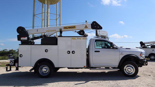 2021 Ram 5500 Regular Cab DRW 4x4, Palfinger PAL Pro 43 Mechanics Body #613016 - photo 9