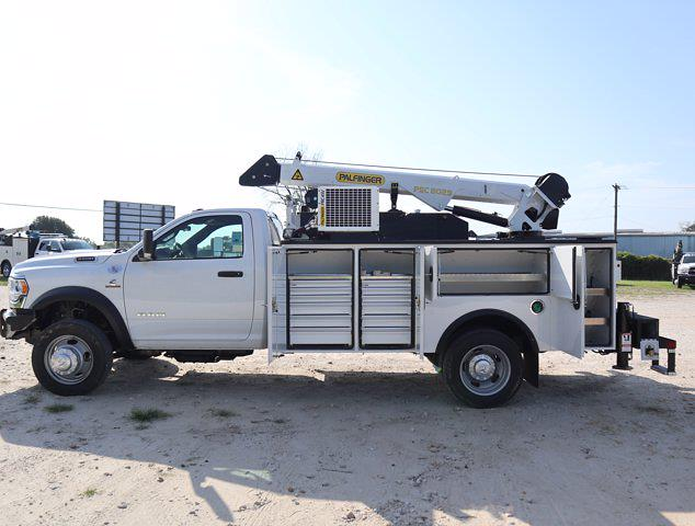 2021 Ram 5500 Regular Cab DRW 4x4,  Palfinger PAL Pro 43 Mechanics Body #613021 - photo 32