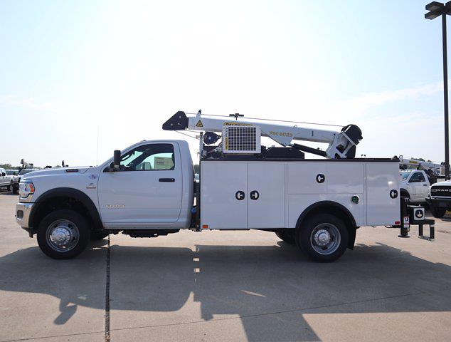 2021 Ram 5500 Regular Cab DRW 4x4,  Palfinger PAL Pro 43 Mechanics Body #613026 - photo 6