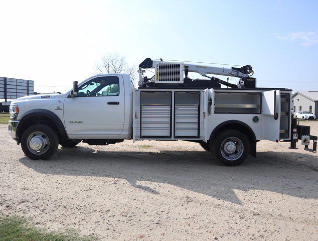2021 Ram 5500 Regular Cab DRW 4x4,  Palfinger PAL Pro 39 Mechanics Body #613030 - photo 21
