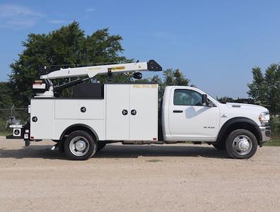 2021 Ram 5500 Regular Cab DRW 4x4,  Palfinger PAL Pro 39 Mechanics Body #613030 - photo 15