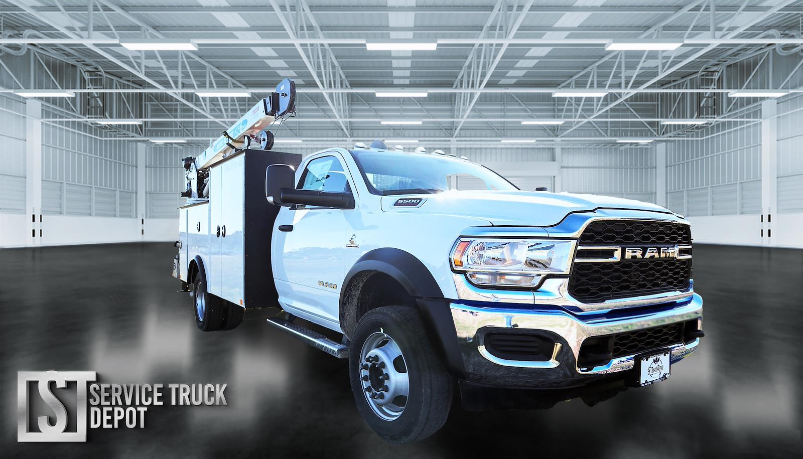 2019 Ram 5500 Regular Cab DRW 4x4, Palfinger PAL Pro 43 Mechanics Body #617070 - photo 1