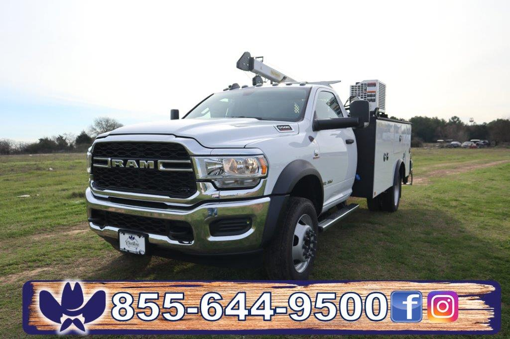 2019 Ram 5500 Regular Cab DRW 4x4, Palfinger Mechanics Body #642235 - photo 36