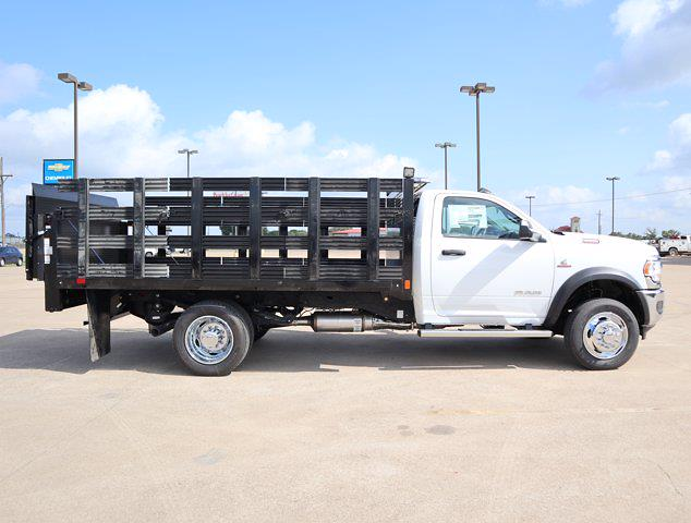 2021 Ram 5500 Regular Cab DRW 4x4,  Palfinger Heavy Duty Stake Bed #643050 - photo 10