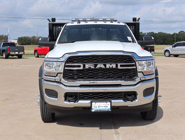 2021 Ram 5500 Regular Cab DRW 4x4,  Palfinger Heavy Duty Stake Bed #643050 - photo 4