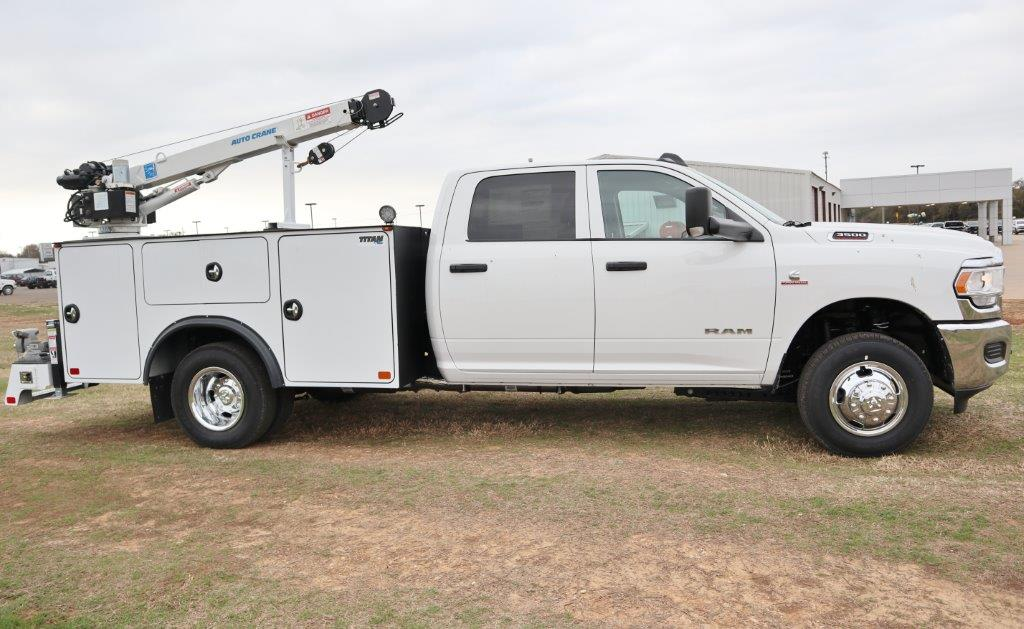 2019 Ram 3500, Auto Crane Mechanics Body