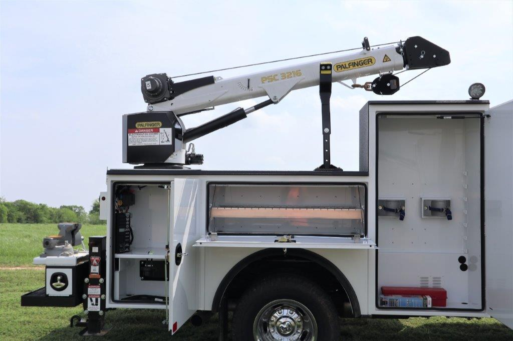 2019 Ram 3500 Crew Cab DRW 4x4, Palfinger PAL Pro 20 Mechanics Body #647121 - photo 22