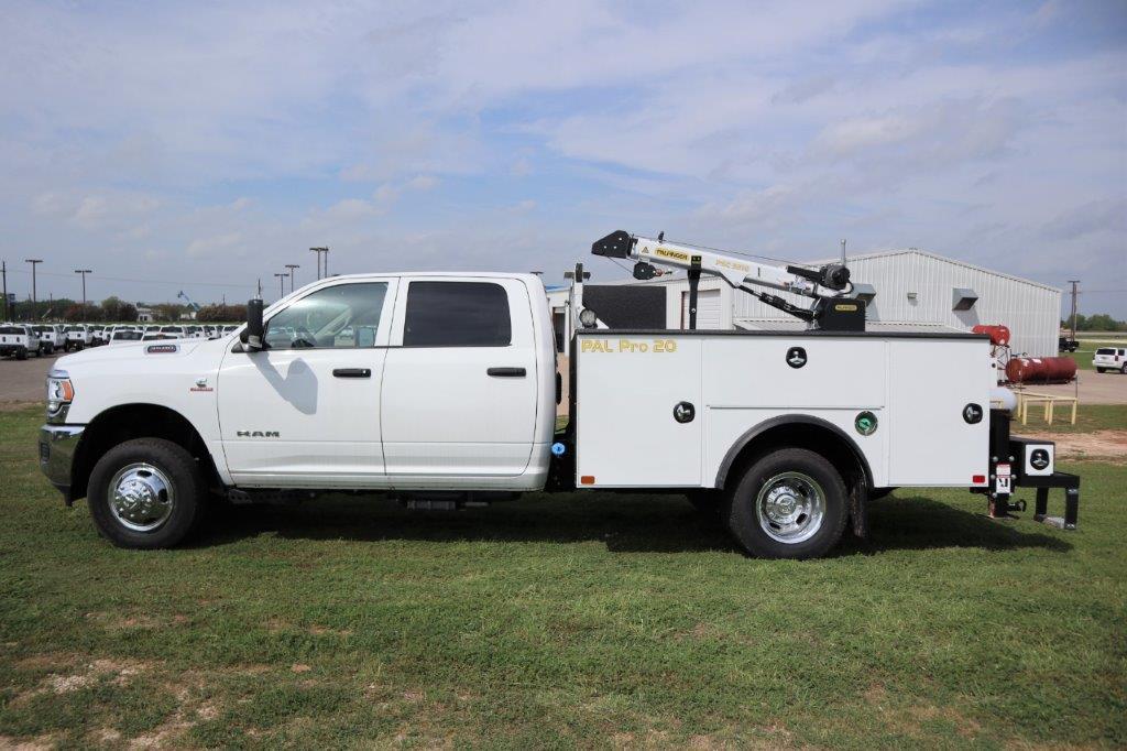 2019 Ram 3500 Crew Cab DRW 4x4, Palfinger PAL Pro 20 Mechanics Body #647121 - photo 5