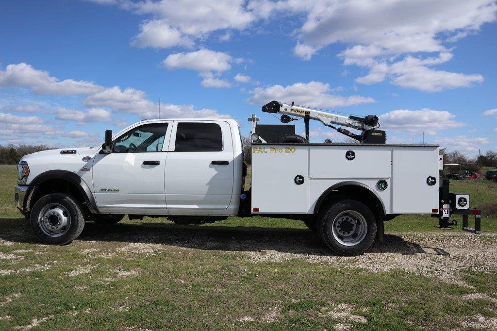 2019 Ram 5500 Crew Cab DRW 4x4, Palfinger PAL Pro 20 Mechanics Body #686376 - photo 6