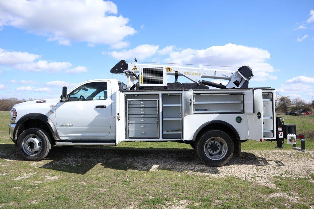 2019 Ram 5500 Regular Cab DRW 4x4, Palfinger PAL Pro 43 Mechanics Body #710608 - photo 17