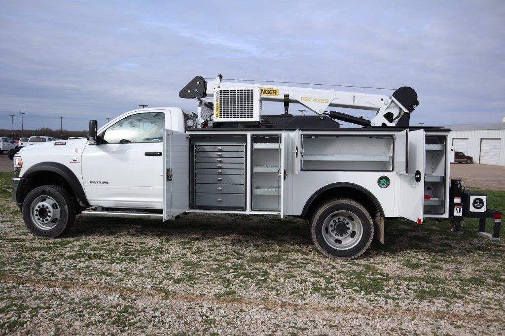 2019 Ram 5500 Regular Cab DRW 4x4, Palfinger PAL Pro 43 Mechanics Body #710609 - photo 20