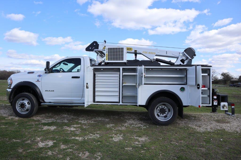 2019 Ram 5500 Regular Cab DRW 4x4, Palfinger PAL Pro 43 Mechanics Body #710614 - photo 17